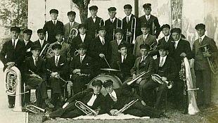 Aufnahme des Orchesters vor dem 2. Weltkrieg um 1938